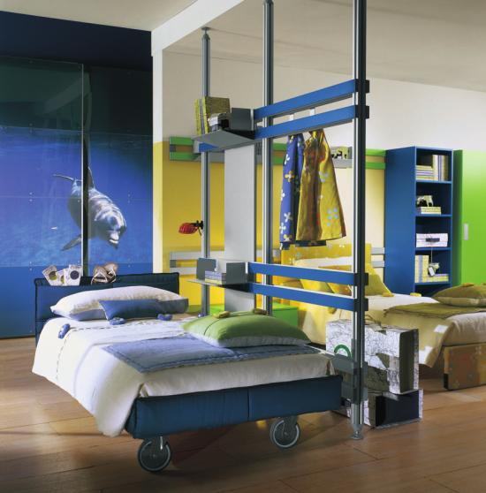 Дизайн детской комнаты для мальчиков — Фото
