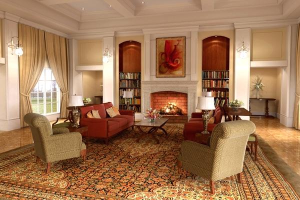Как подчеркнуть роскошь домашнего интерьера: простые идеи для декора гостиной в классическом стиле
