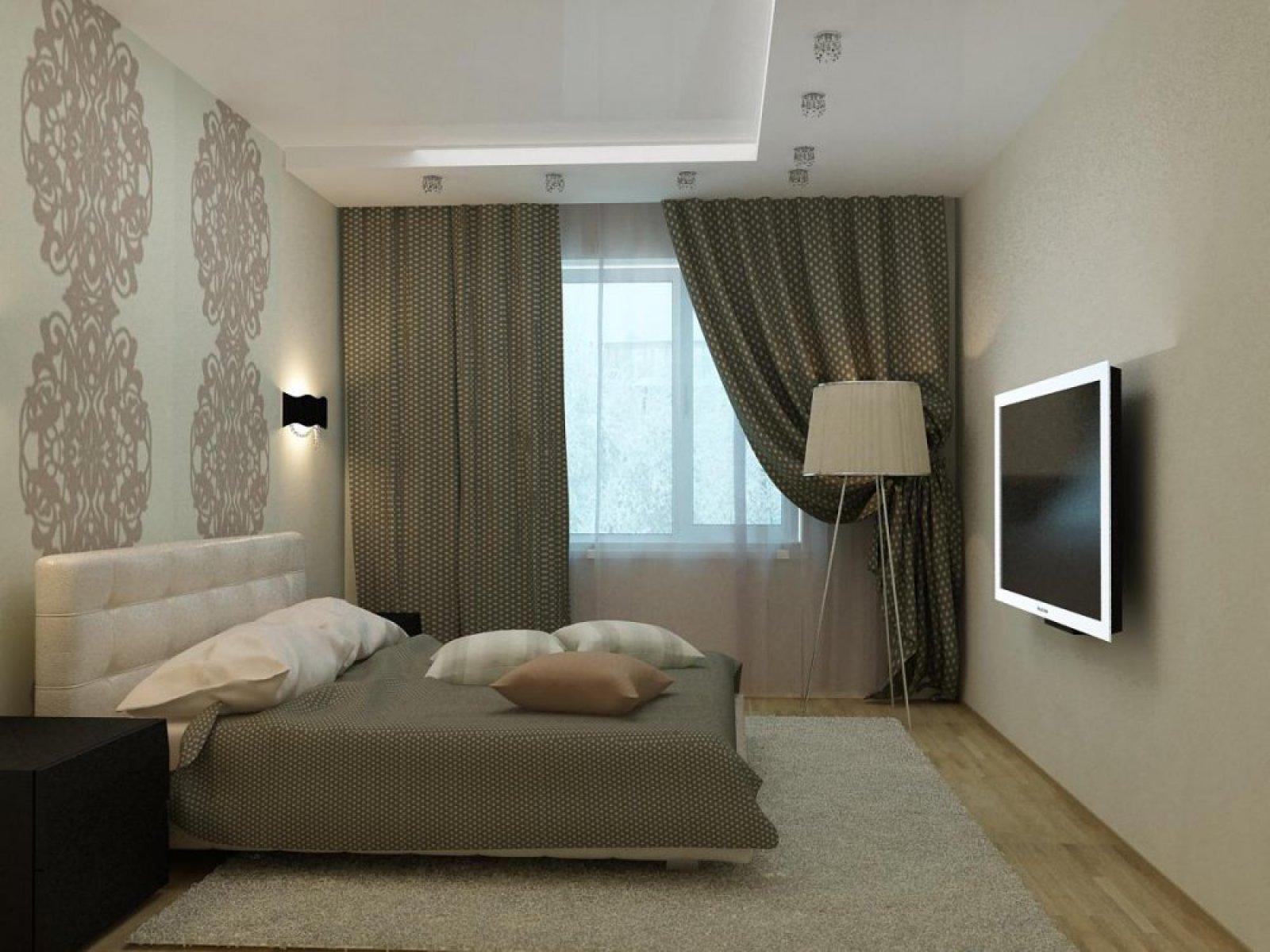 Дизайн маленькой спальни — (100 фото)