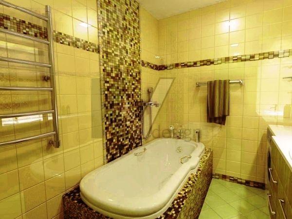 Дизайн мозаичной плитки для ванной комнаты: релакс-интерьер в стильном оформлении (+65 фото)