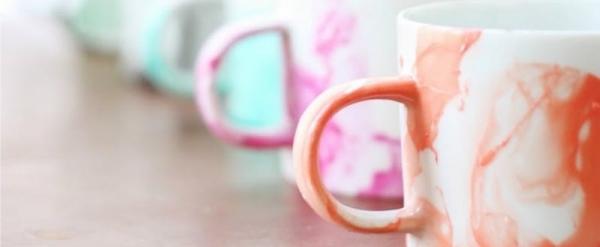 Роспись стаканов и керамических кружек – 3 мастер-класса и идеи для вдохновения