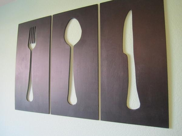 Украшения для кухни своими руками: много интересных идей с описанием