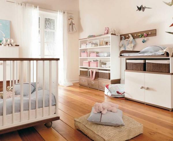 Все об интерьере детской комнаты для новорожденного малыша