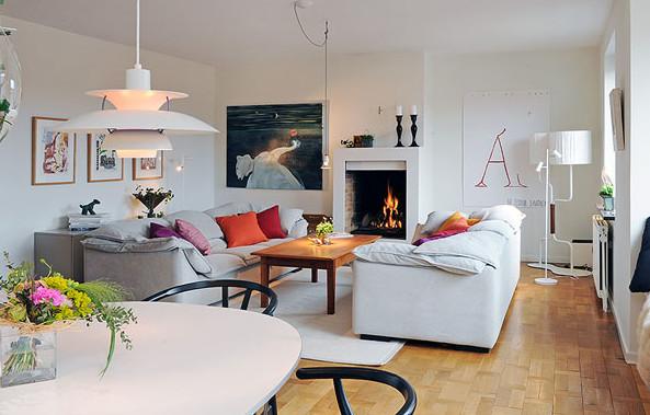Как оформить гостиную в скандинавском стиле?