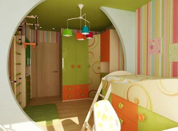 Идеи и способы зонирования детской комнаты: комфорт и функциональность интерьера