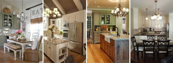 Выбираем идеальную люстру для вашей кухни