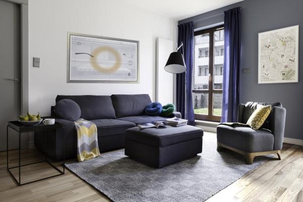 Серая мебель в интерьере (20 фото): поле для экспериментов