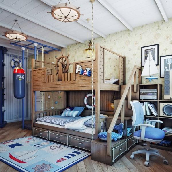 Стиль детской комнаты: 10 вариантов оформления интерьера