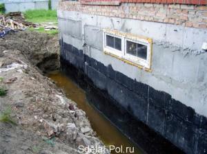 Как сделать гидроизоляцию фундамента