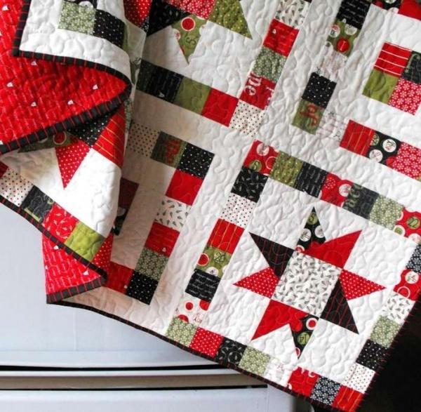 Удивительный пэчворк: одеяло своими руками