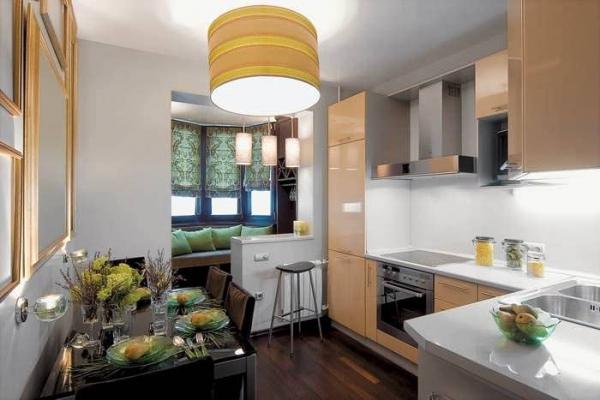 Кухня с балконом: свежие идеи для неповторимого дизайна