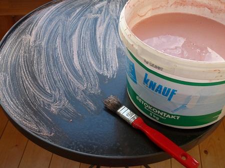 Как разводить клей для плитки