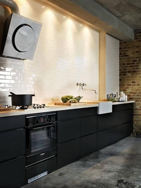 Кухня без верхних шкафчиков: свежие решения в дизайне кухонной мебели